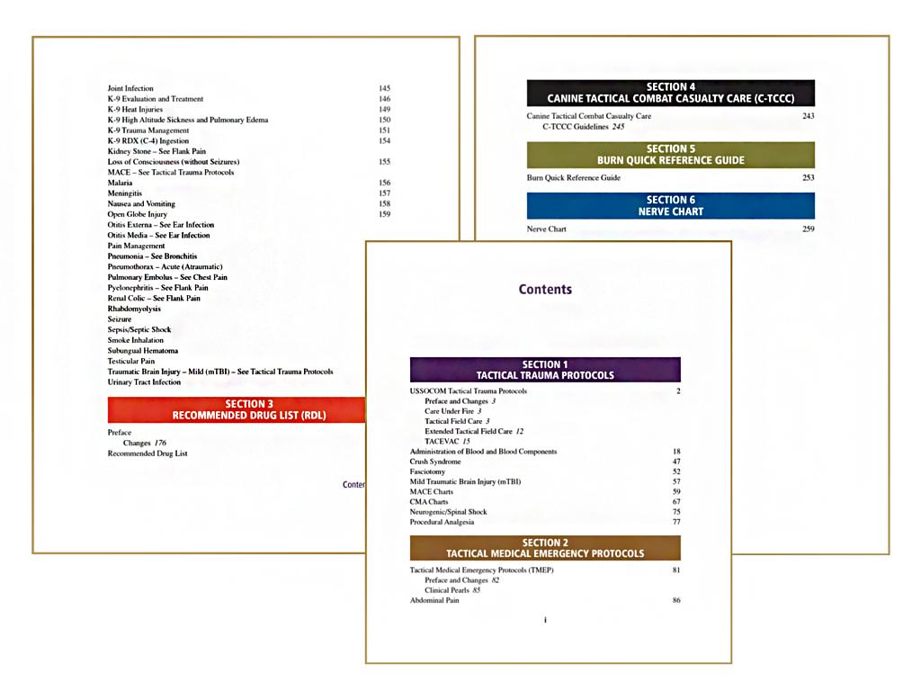 Advanced Tactical Paramedic Protocols Handbook (ATP-P) 10th