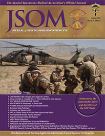 JSOM. Summer 2019 Cover.