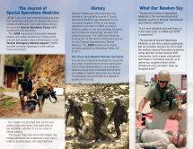 JSOM Subscription Brochure Inside